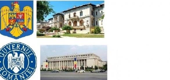Președenția și Guvernul României