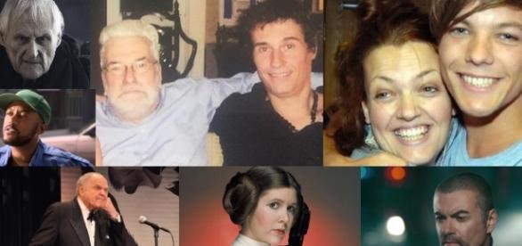 Artistas se foram, outros perderam membros de suas famílias