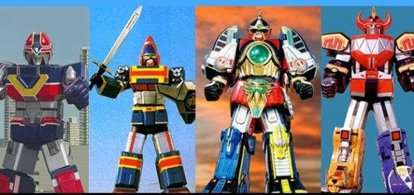 Chance Robo, Thunder Zord e Megazord foram uns dos que mais cativaram fãs