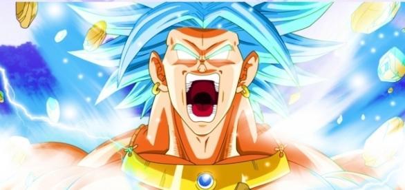 El legendario super Saiyajin Broly