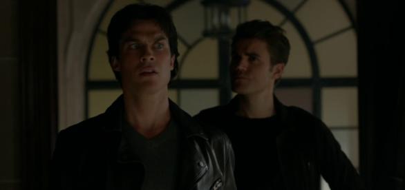 Damon Salvatore e Stefan Salvatore