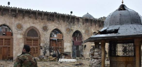 La ciudad de Alepo destruída y sin habitantes