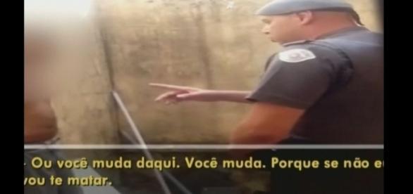 Policial ameaça de morte seu vizinho. O Motivo é um carrinho de supermercado