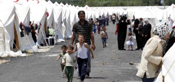Refugiados Sírios vivem em situações precárias