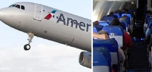Voo para Nova York é interrompido por causa de briga de casal dentro do avião.