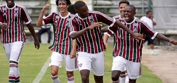 Fluminense estreou goleando na Copa RS Sub-20 (Foto: SIte Oficial do FFC)