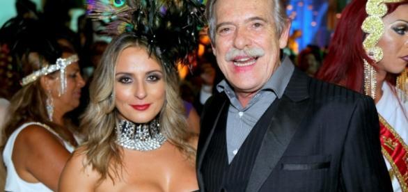 Priscila e Zé de Abreu se conheceram em Paris, onde a brasileira investia na carreira de cineasta