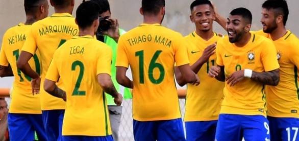 Brasil foi medalha de ouro em 2016
