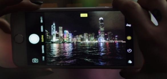 iPhone commercial screenshot capture via Andre Braddox