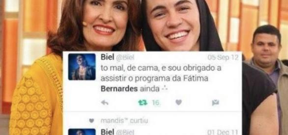 Fátima Bernardes e MC Biel - Google