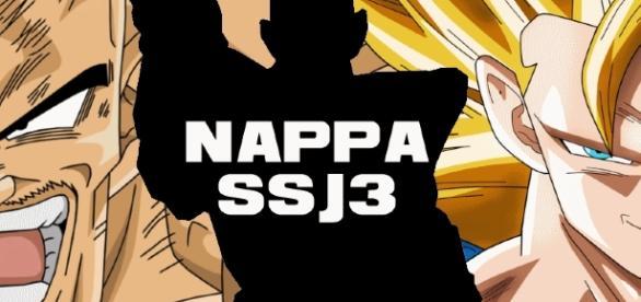 Nappa en SSJ3, Bare ou Cheveux qui poussent ?