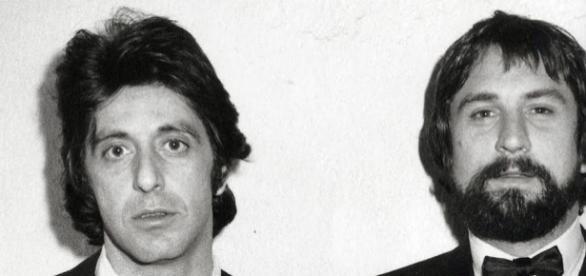 Al Pacino et Robert De Niro en 1982
