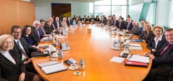 Der Tisch, an dem Deutschland regiert wird. (Foto: Blasting.News Archiv)