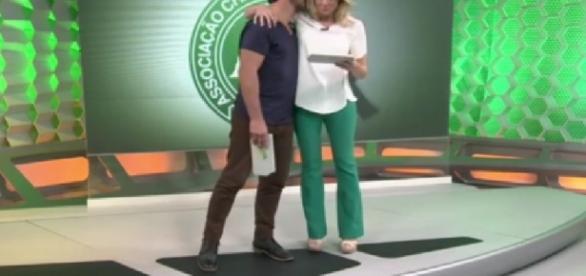 Fernanda Gentil e Flavio Canto - Imagem/Globo