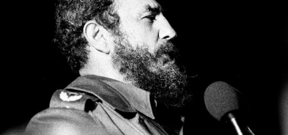 Fidel Castro speaking in Havana, 1978 / Photo by Marcelo Montecino - http://www.flickr.com/photos/marcelo_montecino/9609361/