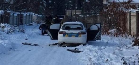 Imaginile groazei lângă Kiev .