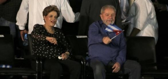 Lula e Dilma Rousseff participaram da despedida de Fidel