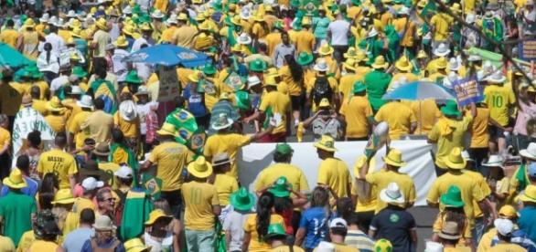 Nova manifestação de combate à corrupção no Brasil