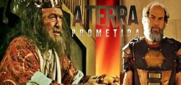 Rei Durgal e seu irmão Kamir em 'A Terra Prometida'