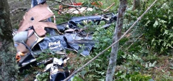 Acidente com helicóptero mata quatro na Grande São Paulo