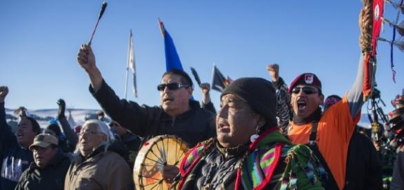 Celebration at the Standing Rock