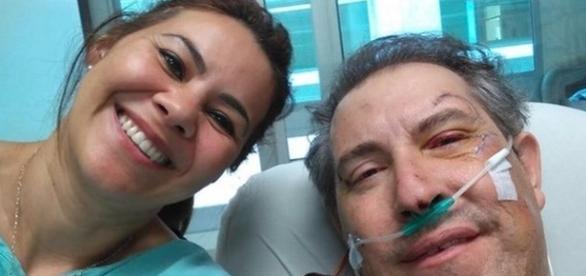Jornalista sobrevive e posta foto