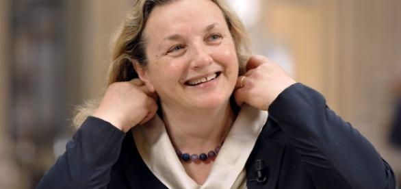 La senatrice Laura Puppato del partito democratico.