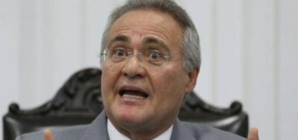 Renan não é mais o presidente do Senado (Foto: Reprodução)