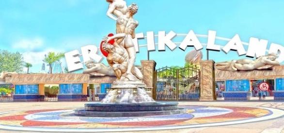 Representação virtual do primeiro parque temático sexual do Brasil.