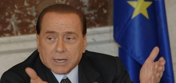 L'ex presidente del Consiglio, Silvio Berlusconi