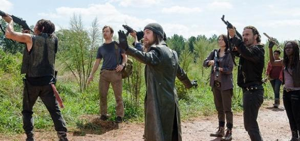 The Walking Dead : Après la soumission , la rébellion arrive