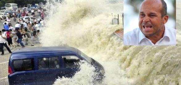 Vidente Carlinhos prevê ondas gigantes - Imagem/Google