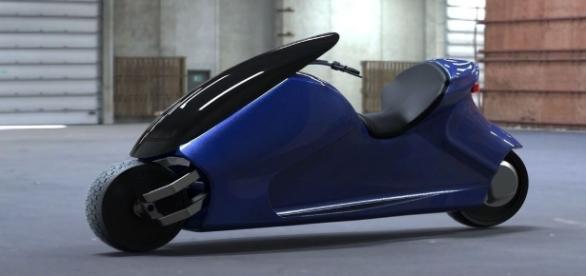 GyroCycle tem design futurista e dá adeus ao pezinho para ficar estacionada