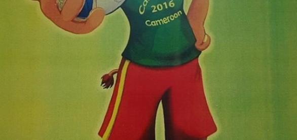 Lili mascotte de la Can feminine 2016