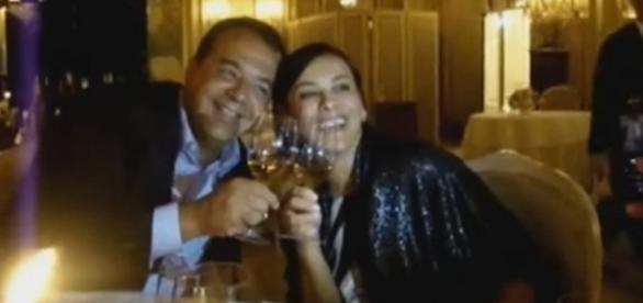 Sérgio Cabral e sua mulher Adriana Ancelmo