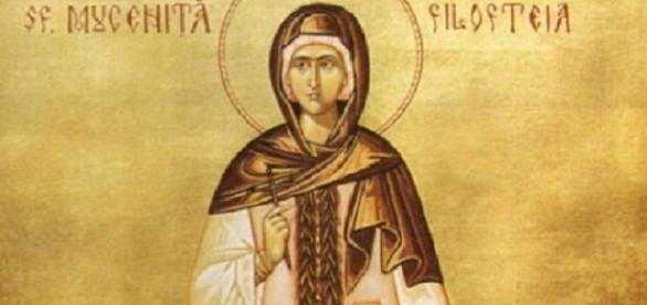 Sfânta mucenică Filofteea protectoarea românilor