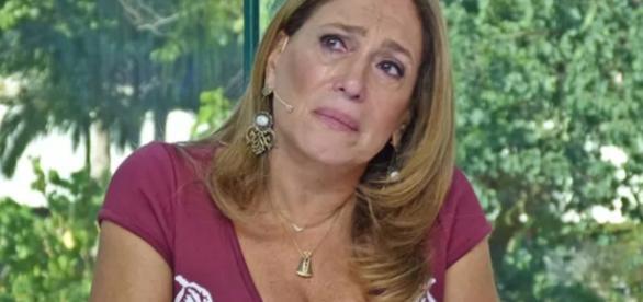 Susana Vieira chora ao vivo - Foto/Reprodução