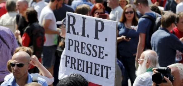 Um die Pressefreiheit ist es schlecht bestellt. (Fotoquelle/UrhG: Blasting.News Archiv)