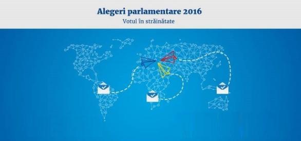 Alegeri Parlamentare 2016 - votul în străinătate