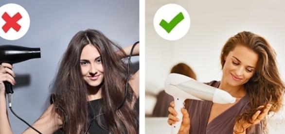 Alguns erros podem fazer com que o cabelo fique menos saudáveis