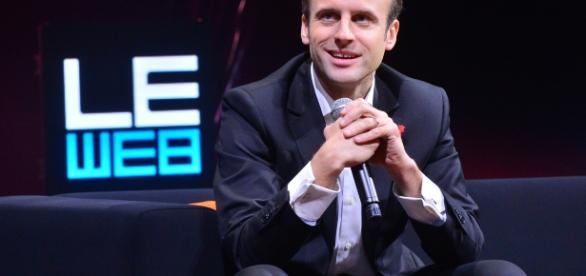 Emmanuel Macron en 2014 - Le Web - opinion - CC BY
