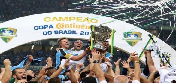 Grêmio chegou ao penta da Copa do Brasil