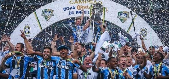 Grêmio Penta Campeão da Copa do Brasil