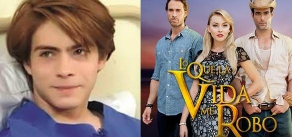 Osvaldo Benavides estará no elenco de O que a vida me roubou em 2017.