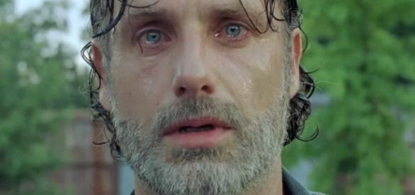 Rick Grimes no 8º episódio da 7ª temporada de The Walking Dead