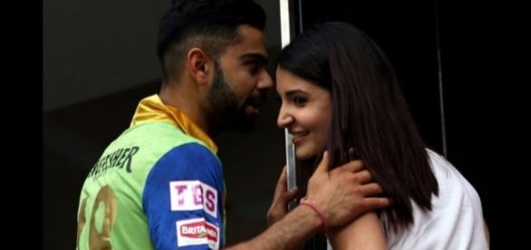 Anushka Sharma and Virat Kohli (Ind vs Eng 4th Test).. - firstpost.com