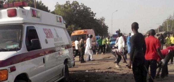 Explosión en el mercado de Nigeria.