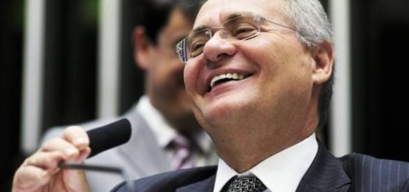 Renan Calheiros presidiu as votações da PEC 55 no Senado