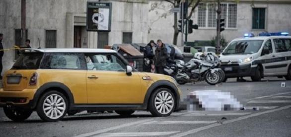 ROMÂNCĂ ÎNSĂRCINATĂ internată în spital în urma unui ACCIDENT în ITALIA - foto Il Messaggero