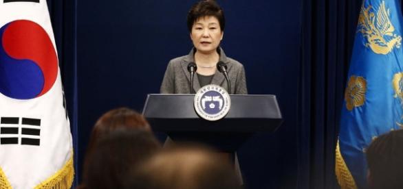 Südkoreas Präsidentin Park. (Photoquelle/UrhG: Blasting.News Archiv)